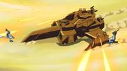 Petrie-Class Anti-Air Guns Firing 01 (Seed HD Ep21)