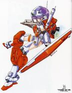 RGM-79C - Powered GM - MS Girl