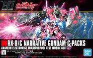 HGUC Narrative Gundam C-Packs