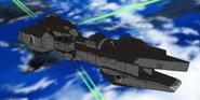 Nelson Beam Guns Firing 01 (Seed HD Ep13)