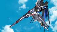 Strike Freedom Combined Beam Rifles 01 (Seed Destiny HD Ep41)
