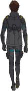 Hathaway 105 pilot suit rear