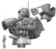 MSA-003 Nemo MG Body Unit