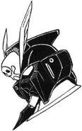 XM-X-2 - Crossbone Gundam X-2 - MS Head