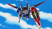 Force Impulse in Combat 02 (Seed Destiny Ep16)