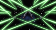 Legend Gundam DRAGOON Firing 01 (Seed Destiny HD Ep49)