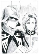 Portrait Char and Garma Zabi