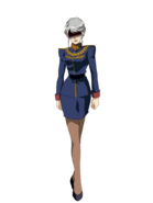 G Gen Genesis Custom Character (Female Zeon Officer)