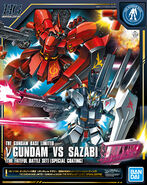 HGUC ν Gundam vs Sazabi (The Fateful Battle Set) -Special Coating-