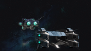 Lab Transport cruising rear