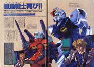 Gundam Pixie and cry