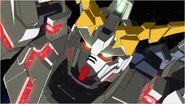 Gundam Unicorn Destroyer Mode Screenshot