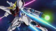 ZGMF-X09A Justice Gundam - GBFT Cameo