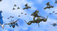 Gunner ZAKU Warrior on Guul 01 (Seed Destiny Ep40)