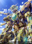 MS Gundam Calendar 2019 09-10