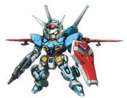 Super Robot Wars X Gundam G-Self Atmospheric Pack