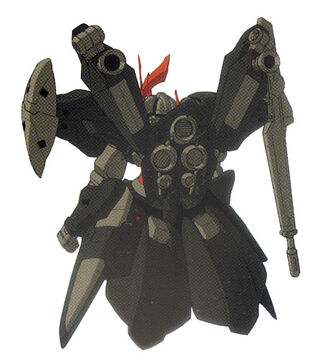 Rear (High Mobility Mobile Armor Mode)