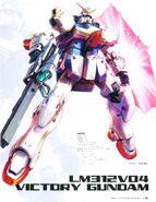 Victory Gundam Illustration as seen on Gundam MS Historica Vol 6