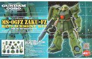Gunpla ZakuKai Resin box