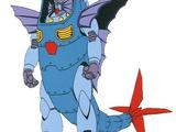 GF13-026ND Mermaid Gundam