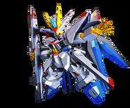 SD Gundam G Generation Cross Rays Strike Freedom Gundam