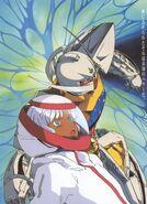 Loran and ∀ Gundam Illustration