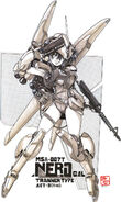 MSA-007T Nero Trainer Type - MS Girl