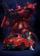 GTO Char Zaku Toyota