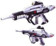 Mudrock Gundam - Beam Rifle
