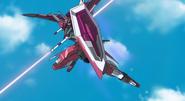 Infinite Justice in Combat 01 (Seed Destiny Ep42)