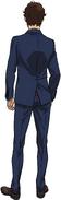 Hathaway 105 formal suit rear