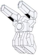 GN-009 - Seraphim - Backpack View