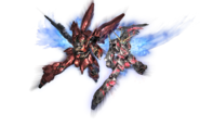Gundam Online Wars Sinanju vs Unicorn