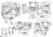 Gundam The Origin Mechanical Work 1st Vol MS-04 Bugu D