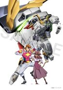 Kazami,Maiya,Gundam Justice Knight & Aegis Knight