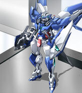 Gundam Amazing Exia with Trans-Am Booster