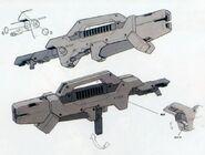 GNY-001 - Gundam Astraea - GN Launcher