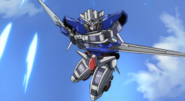 Gundam Exia Armed with GN Long Blade 01 (00 S1,Ep6)