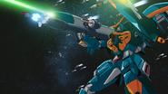 Calamity Gundam Plasma-Sabot Bazooka Firing 01 (Seed HD Ep47)