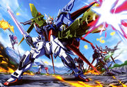 GAT-X105+AQM-E-YM1 Perfect Strike Gundam (Mobile Suit Bible Vol 06)