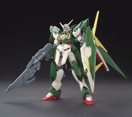 XXXG-01Wfr Gundam Fenice Rinascita (Gunpla) (Front)