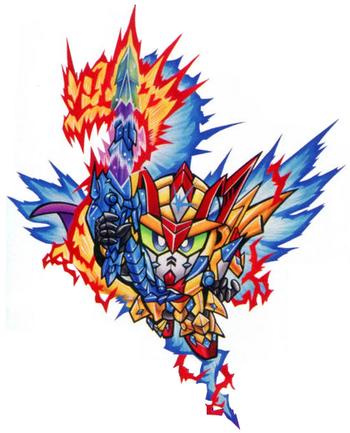 Holy Dragon Knight Zero Gundam