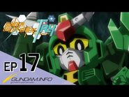 GUNDAM BUILD FIGHTERS TRY-Episode 17- Haunted Castle Trap (ENG dub)