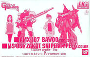 HG Bawoo GPB Color Zaku I Sniper Type GPB Color