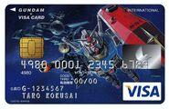 RX-78-2 Gundam - Visa Card