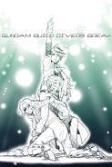 Gundam Build Divers Break Poster
