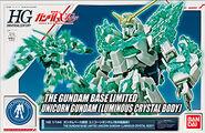 HGUC Unicorn Gundam (Luminous Crystal Body)