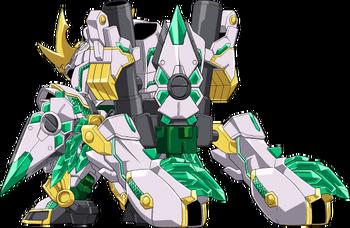 Shinobi Form (Rear)