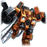 Mobile Worker Gundam Diorama Front 3rd.