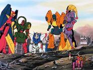 Shuffle Alliance MF with Shining Gundam
